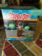 NIB Gemmy Airblown Inflatable Christmas Scooby - Doo  3.5 Ft Tall