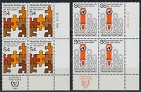 UNO Wien 1981 ** Mi.17/18 Behinderte Handicapped [sr2024]