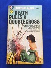 DEATH PULLS A DOUBLECROSS - FIRST EDITION PAPERBACK ORIGINAL BY LAWRENCE BLOCK