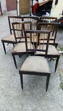 6 sedie Decò