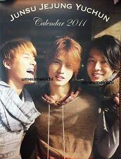 RARE JYJ official Japan calendar 2011 Jaejoong Yuchun Junsu