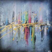 """""""City"""" Œuvre originale de Audrey Granjeaud."""