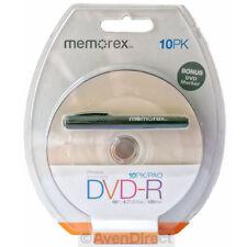 10 Memorex 16X White Inkjet Printable 4.7GB DVD-R Bonus Marker [FREE SHIPPING]