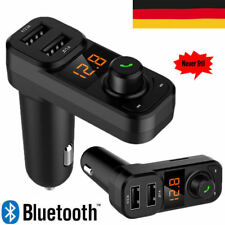 Auto FM Transmitter MP3 Player Bluetooth Auto Freisprechanlage Car SD AUX USB