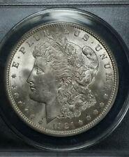 1921 P Morgan Silver Dollar ANACS MS63 Stunning Brilliant Round Coin
