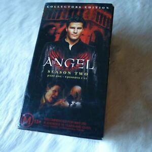 ANGEL Collector's Edition Season 2 Part One VHS 2001 SUPERNATURAL Fiction Horror