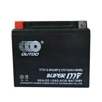Battery YTZ14S YTX12-BS FOR ATV UTV Quad Arctic Cat DVX 250 300 Utility 12V 12AH