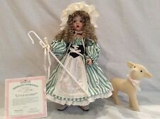 Little Bo Peep Porcelain Doll By Ashton Drake Galleries