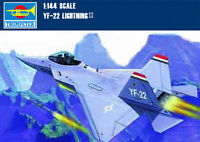 Trumpeter 01331 1/144 USA YF-22 LightningⅡFighter Aircraft Assembly Model Kits