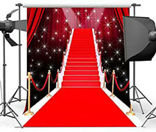 5X7FT Red carpet curtain Hollywood celebrity backdrop wedding background