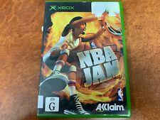 NBA Jam Microsoft Xbox Game *No Manual* (PAL)