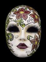 Maschera Di Venezia Primavera Floreale IN Carta Pesta Per Collezione - 1582 -