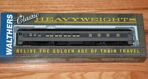 WALTHERS 932-10055 PULLMAN HEAVYWEIGHT 8-1-2 (PLAN #3979A) UNION PACIFIC UP GRAY