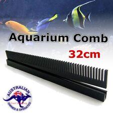 32cm Length Black Acrylic Aquarium Weir Comb Marine Sump Fish Tank Refugium