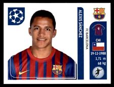 Panini Champions League 2011-2012 - Alexis Sanchez FC Barcelona No. 495