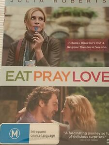 Eat Pray Love  Julia Roberts DVD Brand New