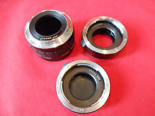 Canon Tube Kenko Extension Tube For C/AF 36mm/20mm/12mm