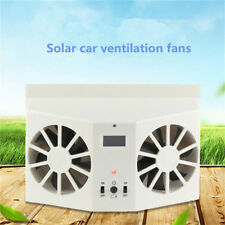 NEW Solar Power Car Window Air Vent Cool Cooler Cooling Air Conditioner Fan