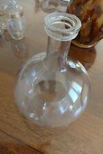 Ancien vintage gobe bouteille piège guêpe bourdon mouche en verre soufflé