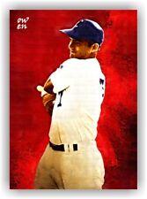 George Brett El Segundo High Artist Card - Owen Art Cards - Signed Serial 1/5