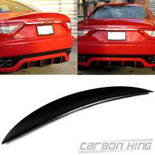 Item In USA Unpainted Maserati Gran Turismo 2D MC Sport Trunk Spoiler Wing 2013