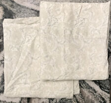Simply Shabby Chic Floral Stitch Gray - KING Pillowcases  - 1-PAIR