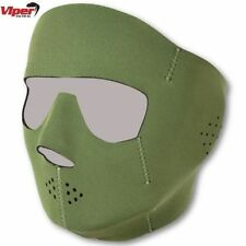 Green Paintball Goggles & Masks