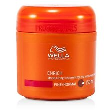 Wella Enrich Moisturizing Treatment for Dry & Damaged Hair (Fine/Normal) 150ml