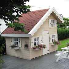Children wooden play house wendy house