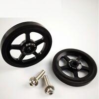 Easy Wheels 2pcs Easywheel For Brompton Folding Bike Alloy ultralight wheel