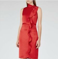 Reiss Dress Size 12 Red