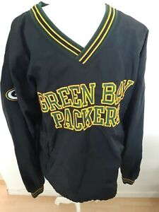 Vintage NFL Pro Line Champion 90's Pullover Jacket Green Bay Packers Size Large
