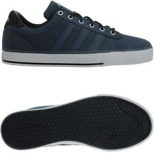 7f2f0fbea89299 Adidas Daily blau Herren Canvas Low-Top Sneakers Freizeitschuhe Cloudfoam  NEU