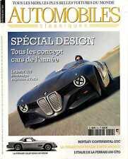 AUTOMOBILES CLASSIQUES n°214 02/2012 FERRARI 250 GTO BENTLEY CONTINENTAL GTC