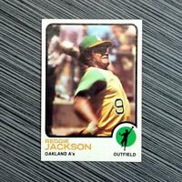1973 Topps #255 Reggie Jackson | PSA Worthy: NM-MT