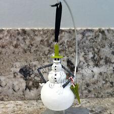 Disney Parks Nightmare Before Christmas Snowman Jack Skellington Ornament