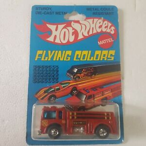 Vintage Hot Wheels 1979 flying colours fire eater engine