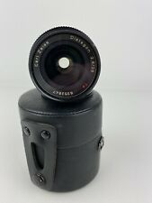 Vintage Contax Carl Zeiss Distagon T* 2.8/28 (AE) Lens And Case Pre-owned