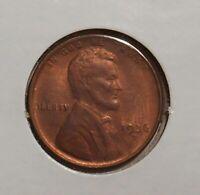 1936D Lincoln cent - premium uncirculated - UNC wheat penny 1936 D