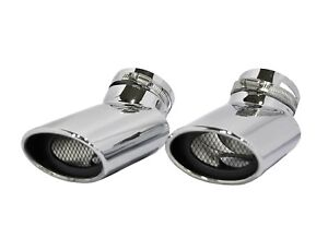 STAINLESS STEEL OVAL TIP EXHAUST MUFFLER TAIL PIPE TIP RANGE ROVER SPORT DIESEL