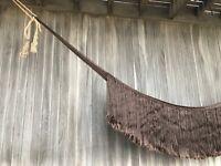 MONTAUK, le hamac design à franges