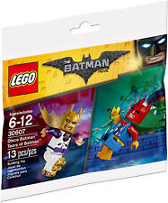 LEGO - DISCO OUTFIT & TEARS OF BATMAN PROMOTIOAL POLYBAG SET 30607/THE MOVIE