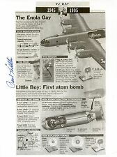 PAUL TIBBETS: Enola Gay and the Atom Bomb: Autographed