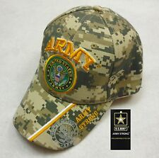 New US Army Strong Digital Camo Hat OFICIALLY LICENSED USAR Camoflauge