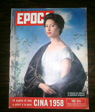 EPOCA - CINA 1958 # Settimanale - Anno IX - N.382 # 26 Gennaio 1958