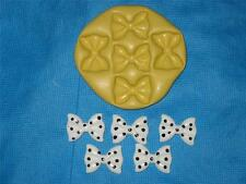 Bows Bow Push Mold Food Safe Silicone #927 Cake Chocolate Resin Gumpaste