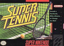 Super Tennis (Super Nintendo Entertainment System, 1991)