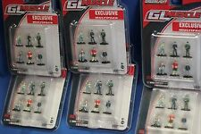 Greenlight wholesale lot, 6 clamshell pks 36 mini figures 1/64 scale Police Man