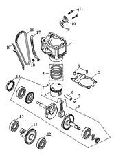 QUAD ATV catene tenditore/TRITON BAJA/300/400/immagine 10