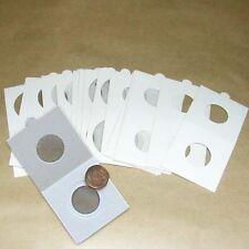25 zelfklevende munthouders 15 mm - étuis autocollants - adhesive coinholders